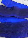 Free Shipping on Implora Blue Cobra Snakeskin