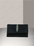 Implora Black Vertical Stingray Key Wallet