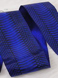 Free Shipping on Implora Blue Cobra Snakeskin Belly