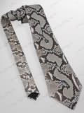 Implora Natural Python Snake Skin Tie