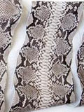 Implora Natural Python Snakeskin Belly, Huge!