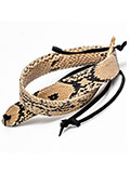 Implora Natural Python Snakeskin Hatband 1W