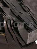 Snake Skin Scraps Pieces Assorted Black Dark Colors