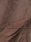 Free Shipping on Brown Python Snake Skin Soft Scraps