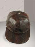 Free Shipping on Dark Brown Cobra Snakeskin Baseball Cap Hat