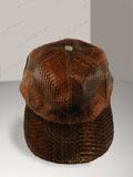 Free Shipping on Cobra Snake Skin Baseball Cap Hat Brown