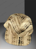 Free Shipping on Natural Corn Snake Skin Baseball Cap Hat