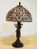 Dale Tiffany Golden Theresa Limited Edition Table Lamp
