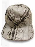 Implora Natural Oriental Rat Snakeskin Baseball Cap Hat