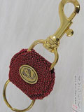 Red Stingray Key Chain